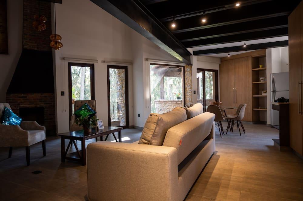 Loft Élite (Volterra) - Coin séjour