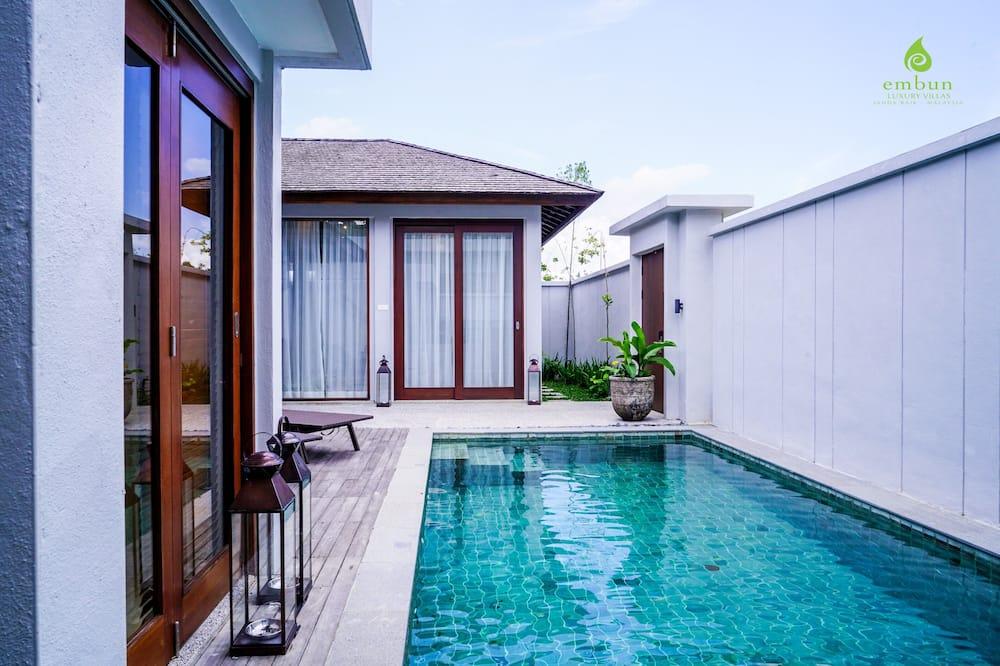 Villa, 1 magamistoaga (Pool) - Privaatbassein