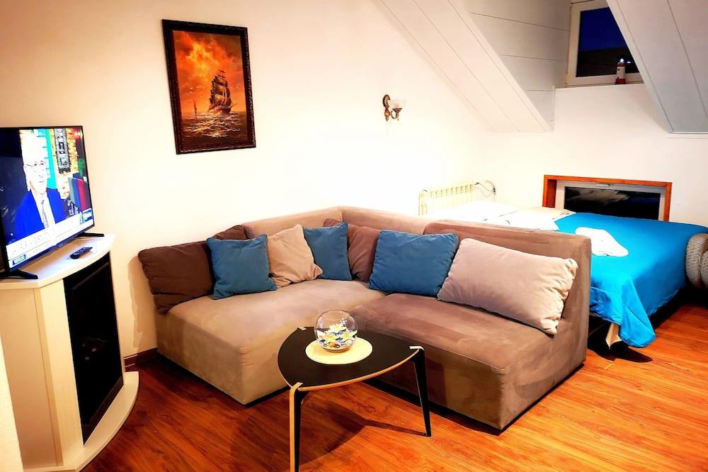 Meridian Apartment with Sauna - Wohnbereich
