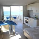 Lägenhet - 1 sovrum - terrass - havsutsikt - Matservice på rummet