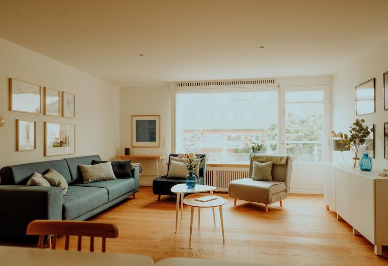 阿爾斯特公園豪華公寓飯店, 漢堡, 奢華公寓 (71 sqm, incl. 75 EUR cleaning fee), 客房
