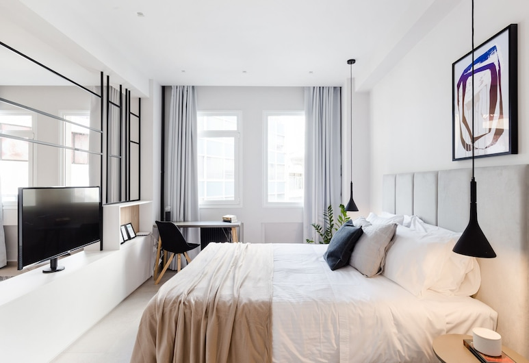 UPSTREET Luxury Apartments in Plaka, Atenas, Apartamento, 1 quarto (B), Quarto