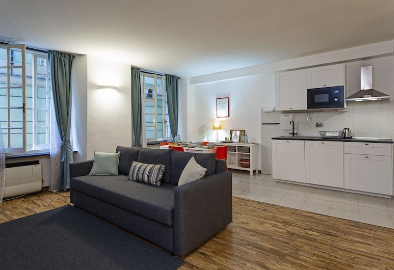 熱那亞街道窗口酒店, 吉那歐, 公寓, 1 間臥室, 客廳