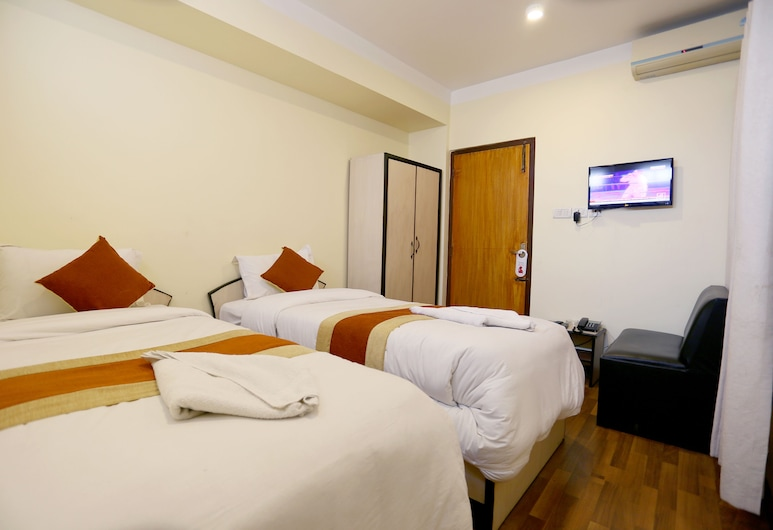 Hotel Sweet Town, Kathmandu, Deluxe Double or Twin Room, Guest Room