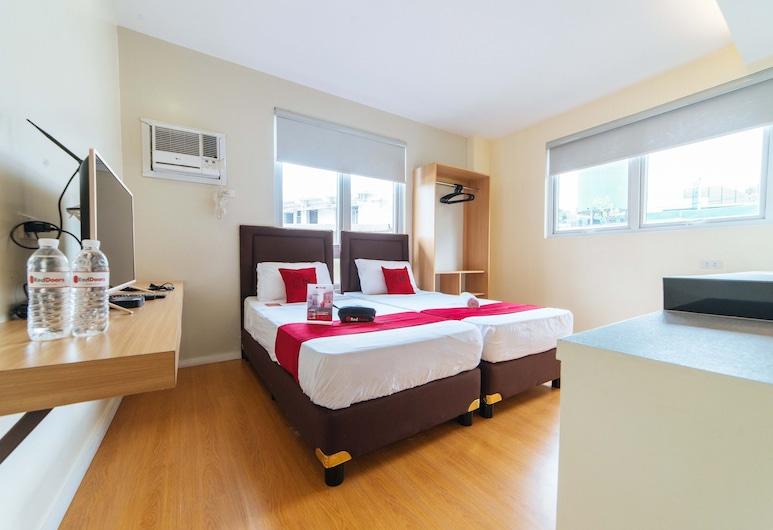 RedDoorz Plus @ A Rita Street San Juan, San Chuanas, Dvivietis kambarys (2 viengulės lovos), Svečių kambarys