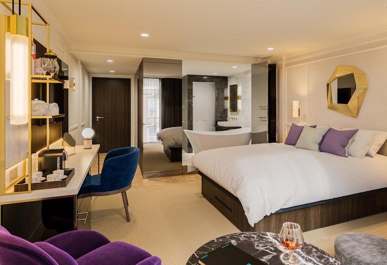 衛兵酒店, 倫敦, 行政雙人房, 客房