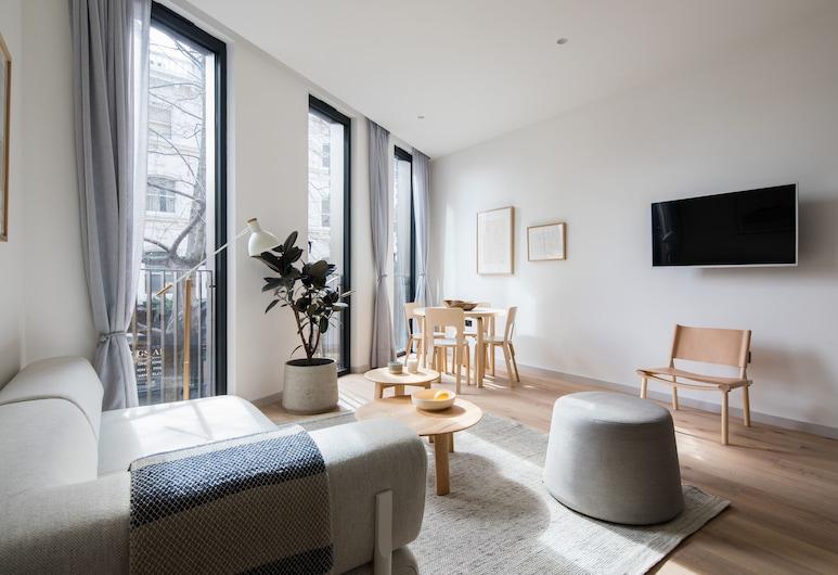 Hausd - Oxford Street, Londres, Suite de lujo, 2 habitaciones, Zona de estar