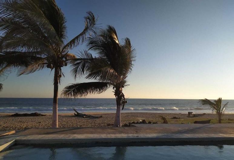 Restaurante Dunas Hostal y Temazcal, Coyuca de Benítez, Habitación cuádruple clásica, Vista a la playa o el mar