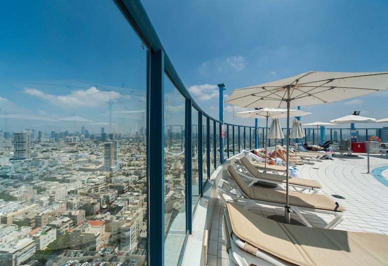 Luxurious 90sqm 2BR Beach Front, Tel Aviv, Bassein