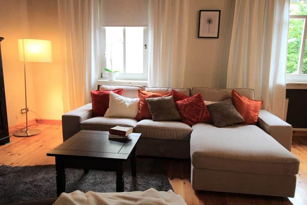 公寓, 1 間臥室, 非吸煙房 (HeimatNest) - 客廳