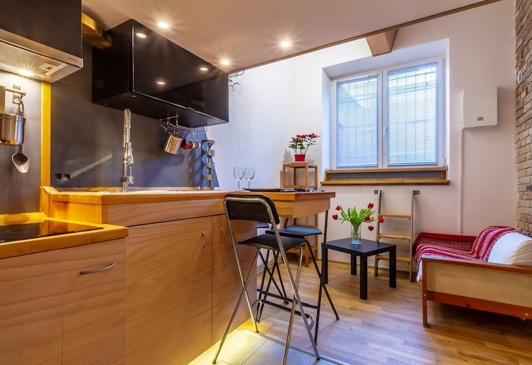 Cute Studio, Praga, Apartament typu Comfort Studio, na parterze, Powierzchnia mieszkalna