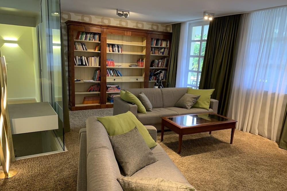 Vila, sauna - Obývacie priestory