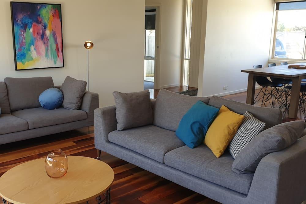 Casa familiar, 4 habitaciones, para no fumadores - Sala de estar