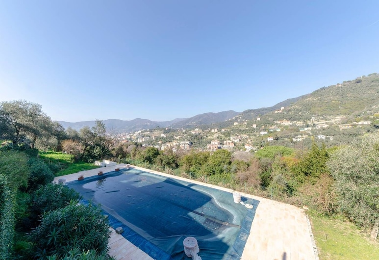 Altido Villa Diana Junior Suite With Swimmingpool, Zoagli, Kolam Renang