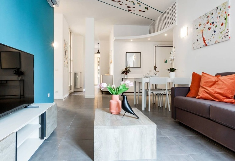 Altido San Vito Apartment, Milan, Apartment, 2 Bedrooms, Living Room