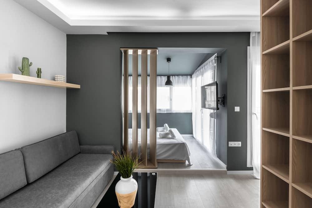 Dzīvokļnumurs ar papildu ērtībām (501) - Dzīvojamā zona