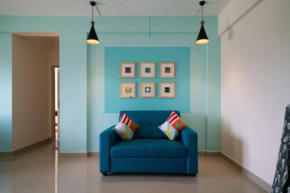 Izba s dvojlôžkom alebo oddelenými lôžkami - Obývačka