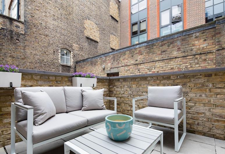 豪斯德公寓 - 克勒肯維爾, 倫敦, 奢華套房, 2 間臥室, 露台, 陽台