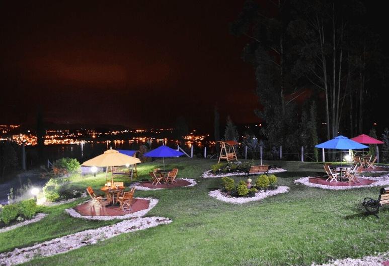 Cabañas Lago Parque Paipa, Paipa, Āra ēdināšanas zona