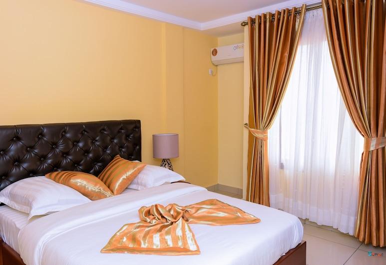 Residence Belmann, Douala, Luxus penthouse, 2 hálószobával, kilátással a városra, Szoba