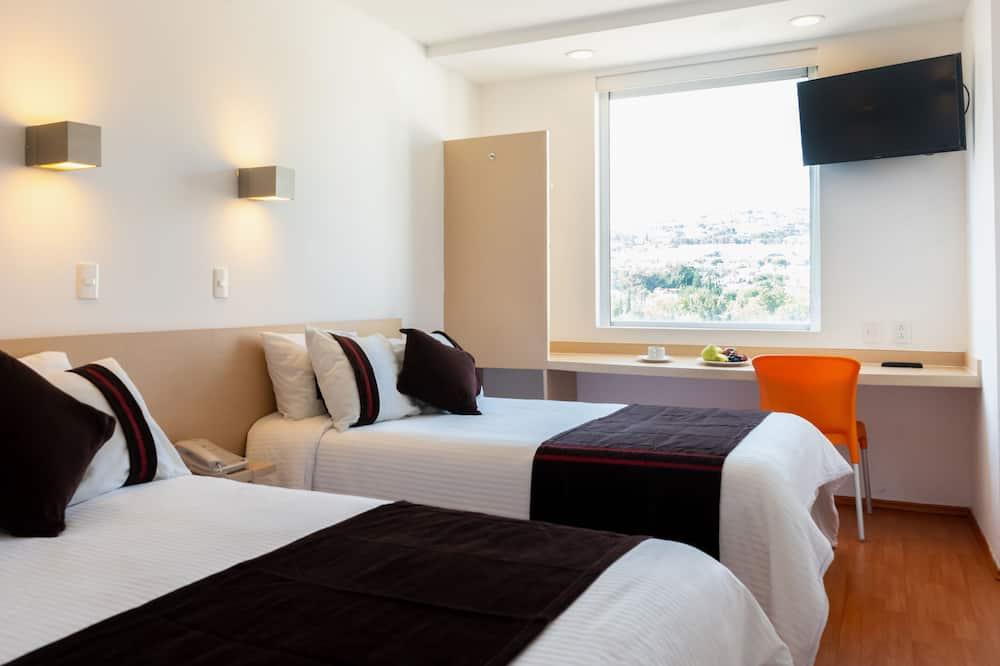 ห้องสแตนดาร์ดดับเบิล, เตียงใหญ่ 2 เตียง - ห้องพัก