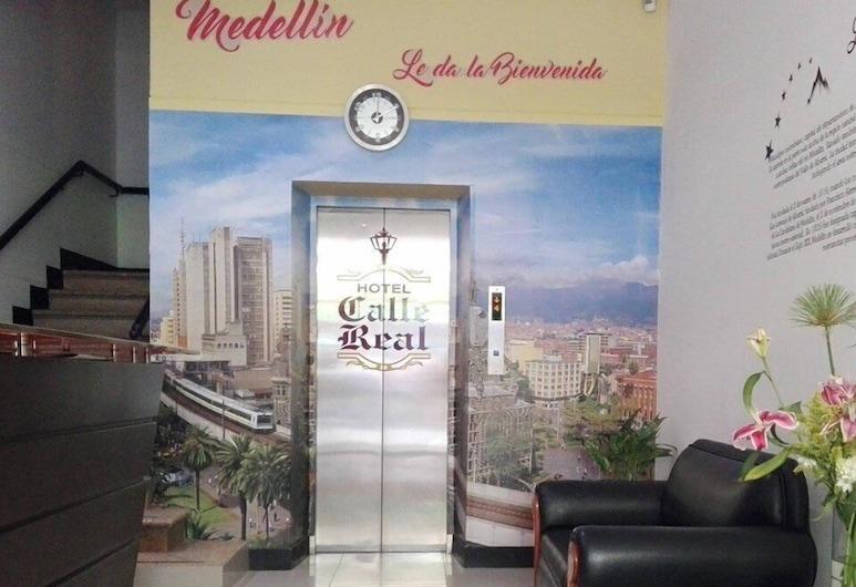 Hotel Calle Real, Medellin, Reception