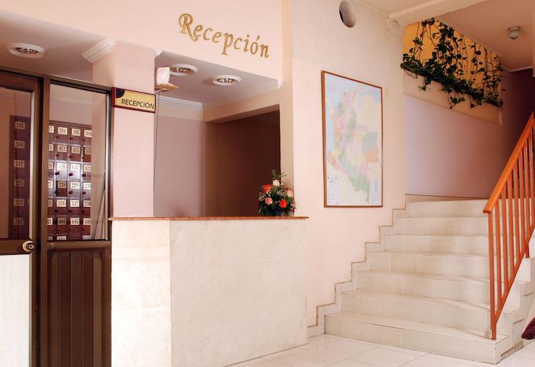 Hotel Valle de Pubenza, Popayan, Recepció