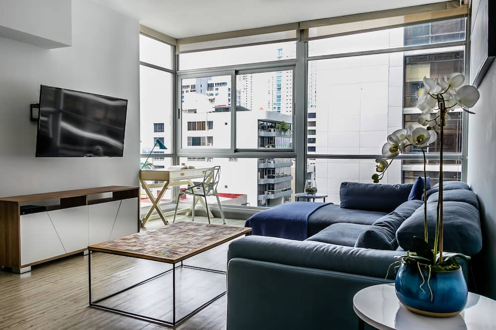 Apartmán, 2 spálne - Obývačka