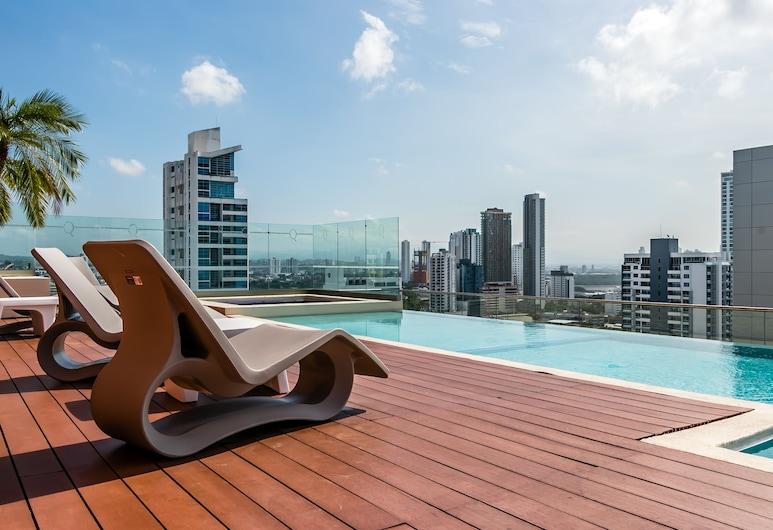 市中心現代公寓式客房飯店, 巴拿馬市, 游泳池