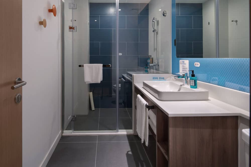 Standardzimmer, 1King-Bett, Stadtblick - Badezimmer