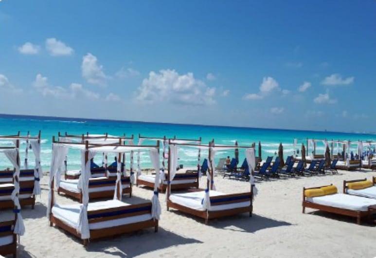 Casa los Girasoles i Cancun City, Mexico, Cancun, Strand