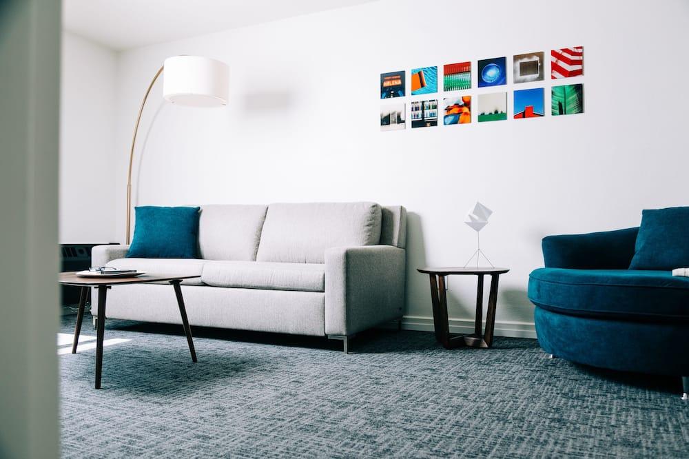 Komforta luksusa numurs - Dzīvojamā istaba