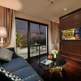 Apartmán, terasa - Obývacie priestory