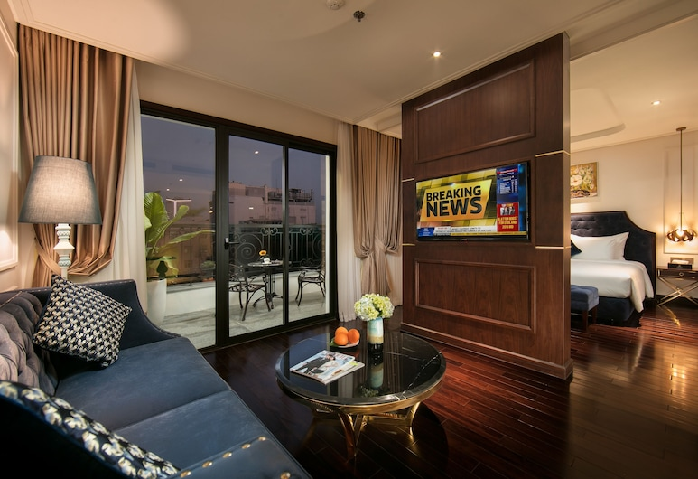 Anatole Hotel Hanoi, Hanoi, Apartament typu Suite, taras, Powierzchnia mieszkalna