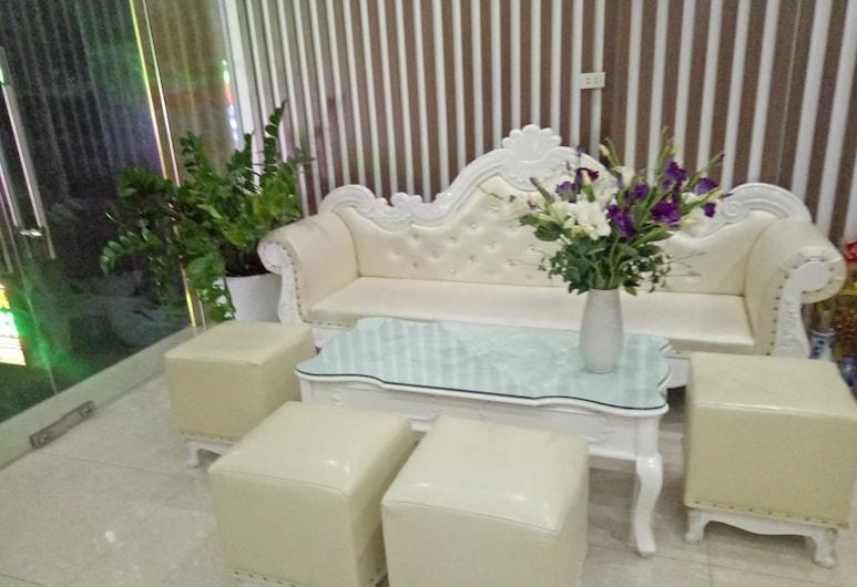 Duc Long Hotel, Hanói, Sala de estar en el lobby