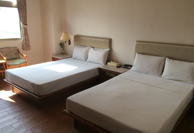 Qan Shuo Hotel, Yilan, Keturvietis kambarys, Svečių kambarys