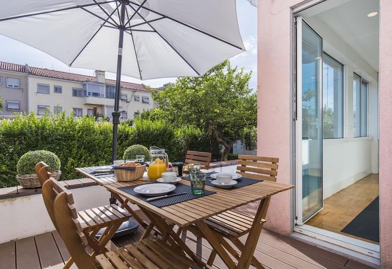 Garden House in Alvalade, Lissabon, Terrasse/patio