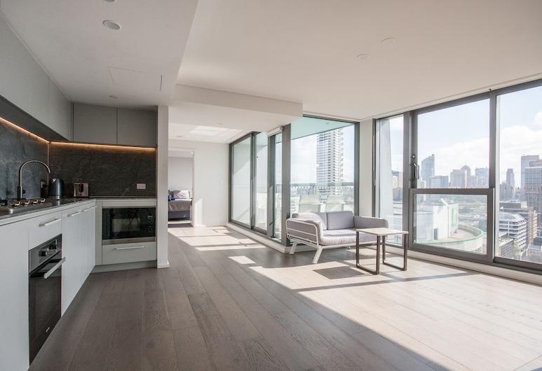 Modern 2 Bedroom Potts Point Apartment, Potts Point, Apartament luksusowy, 2 sypialnie, Powierzchnia mieszkalna