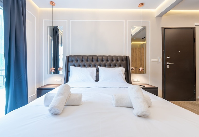 Syntagma Luxury Living One LL1Apartments, Αθήνα, Deluxe Διαμέρισμα (A2), Δωμάτιο