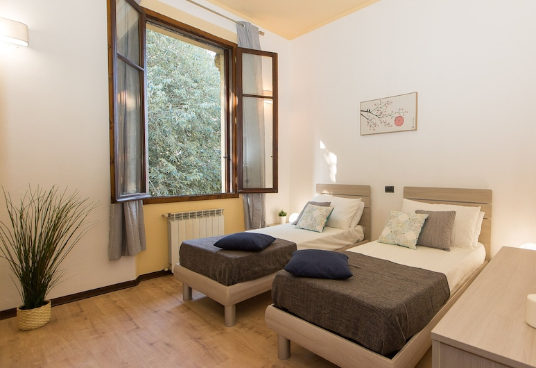 Rental In Rome Rosselli Palace Deluxe 4 Apartment, Florence, Appartement, 3 chambres, Chambre
