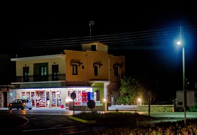 Ancient Tyrins, Nafplio, Hotel Front – Evening/Night