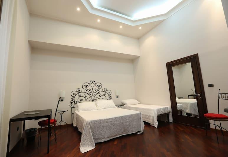 B&B Malaterra, Νάπολη, Deluxe Τετράκλινο Δωμάτιο (Barocco), Δωμάτιο επισκεπτών