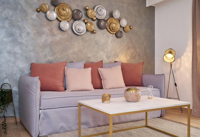 Scandinavian Breeze apartment in Koukaki, Ateena, Huoneisto, 1 makuuhuone, Olohuone