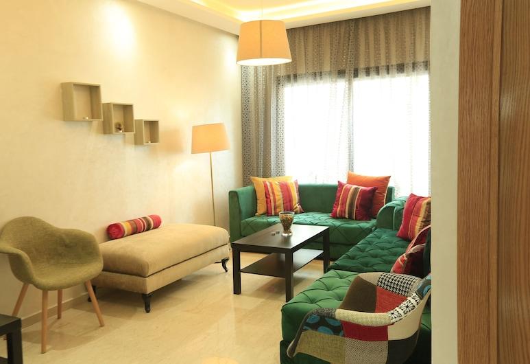 Mon casablanca, Καζαμπλάνκα, Διαμέρισμα, 1 Υπνοδωμάτιο (Mogador), Καθιστικό