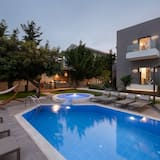 فيلا ديلوكس - ٤ غرف نوم - بمسبح خاص - حوض سباحة خاص