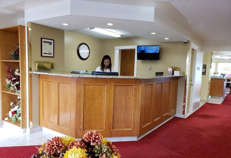 Western Budget Motel 1, Leduc, Reception