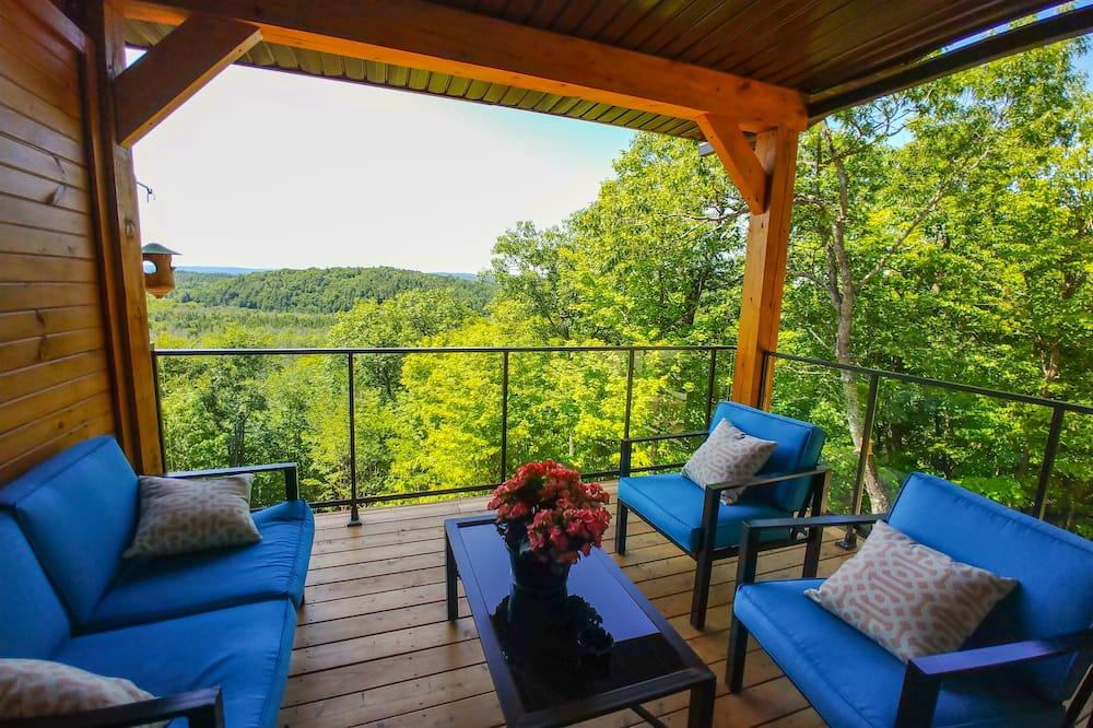 Deluxe Double Room, Valley View, Mountainside - Balcony