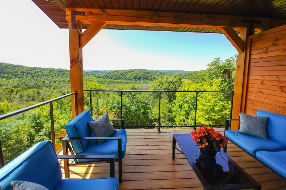 Panoramic Double Room, Valley View, Mountainside - Balcony