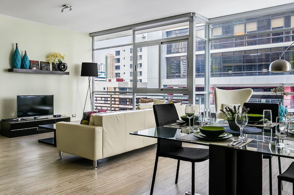 Apartment, 1 Schlafzimmer - Wohnzimmer