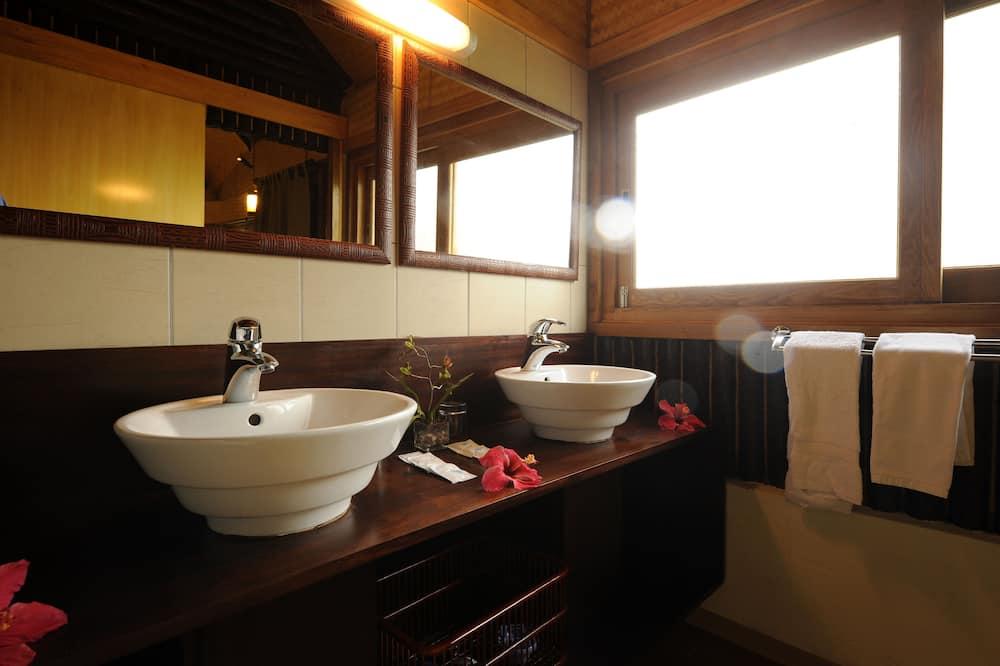 Comfort bungalow - Badkamer